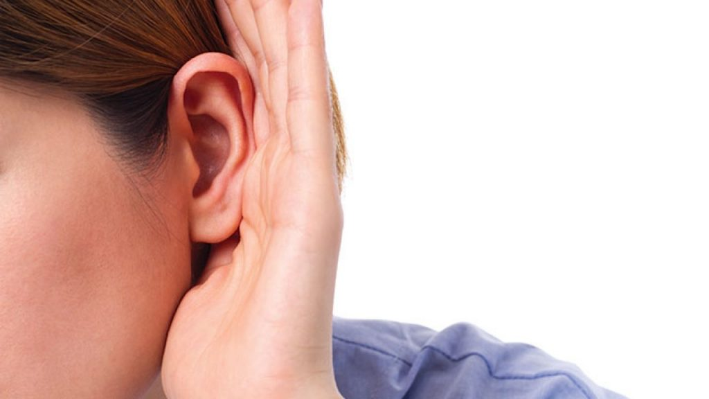 Hard of Hearing ear